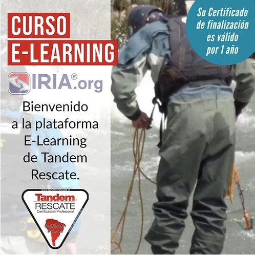"""Curso E-Learning Rescate en Rios e Inundaciones Nivel 1 """"Conocimiento"""""""