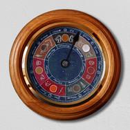 Seven Day Celestial Wall Clock
