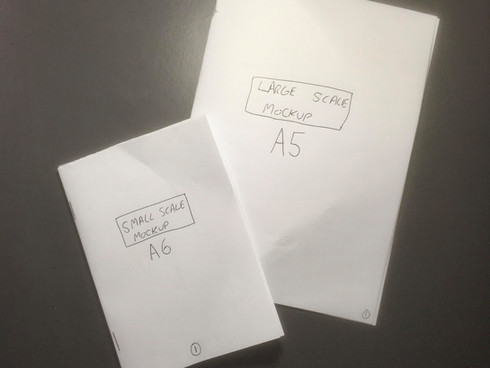 Exercise 1.6: Folding and mocking up your book