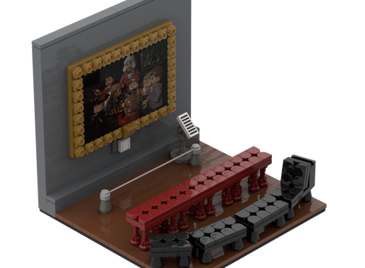 Making A Museum In LEGO®