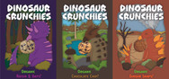 """""""Dinosaur Crunchies"""" Biscuit Boxes"""