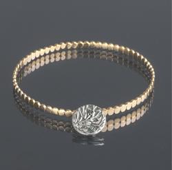 Oriana - Gold plated Phoebe bangle