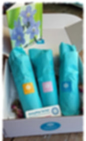DaisyMay Sprays gift boxes