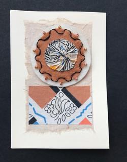 Marilyns Creative Threads - Brooch on Card