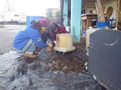 making hoover pots