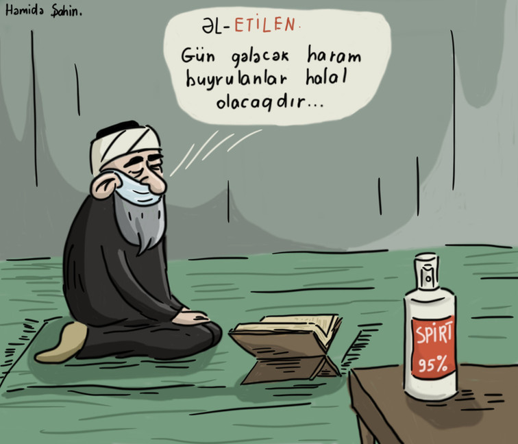 "Karikatura: ""Əl-Etilen"""