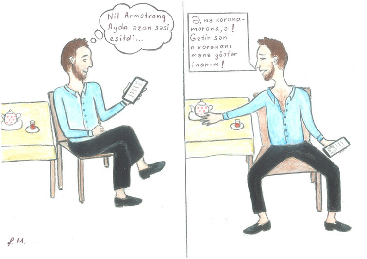 "Karikatura: ""Skeptisizm"""