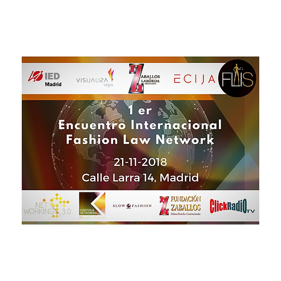 1 er Encuentro Internacional Fashion Law Network (1)