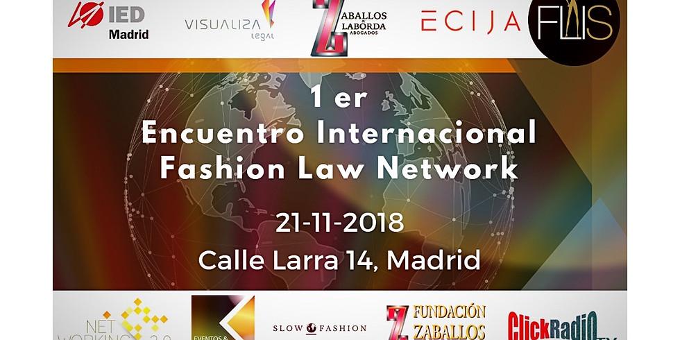 1 er Encuentro Internacional Fashion Law Network