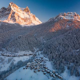 Inverno a Zoppè di Cadore
