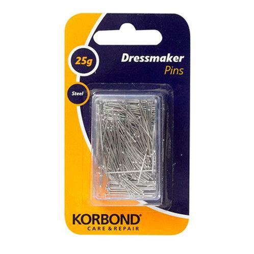 Korbond Dress Maker Pins 25g