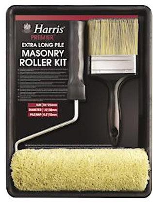 "Harris Extra Long Pile Masonry Roller Kit 9"""