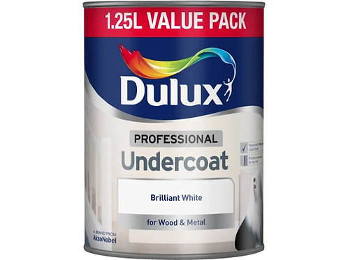 Dulux Professional Undercoat Pure Brilliant White