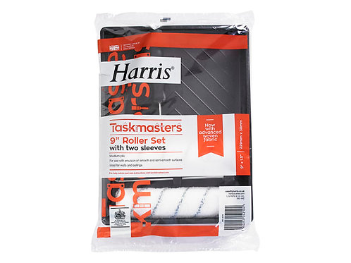 "Harris Taskmaster Roller Set 9"""