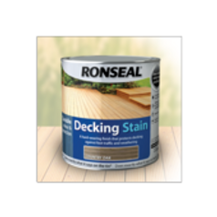 Ronseal Decking Stain 2.5 Litre