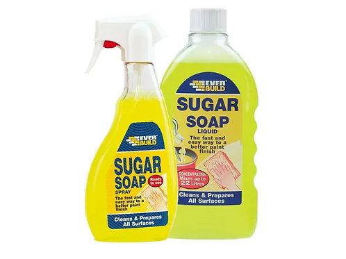 Everbuild Sugar Soap Liquid Spray 500ml