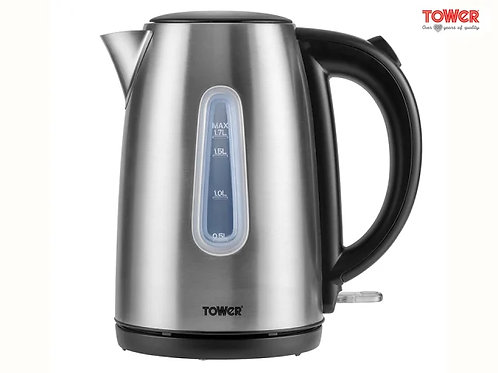 Tower Stainless Steel Jug Kettle 1.7l