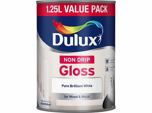 Dulux Non Drip Gloss Pure Brilliant White
