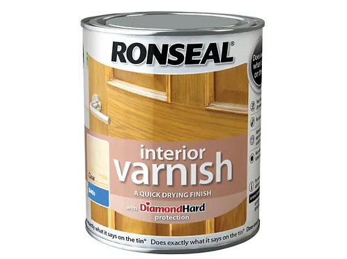 Ronseal Interior Clear Varnish