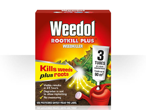Weedol Rootkill Plus Weed Killer Tubes