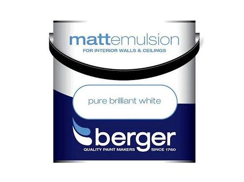 Berger Pure Brilliant White Matt Emulsion