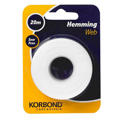 Korbond Hemming Web 20mt