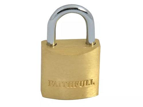 Faithfull Brass Padlock
