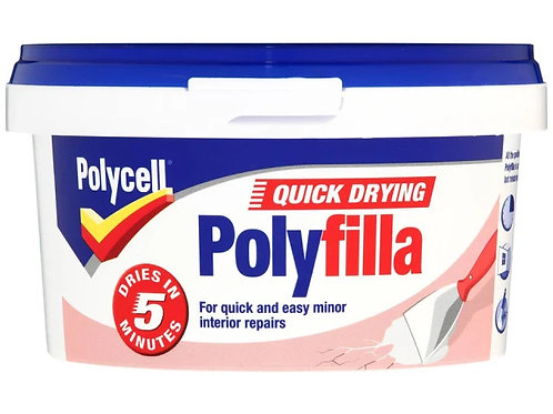 Polycell Quick Drying Polyfilla 500g