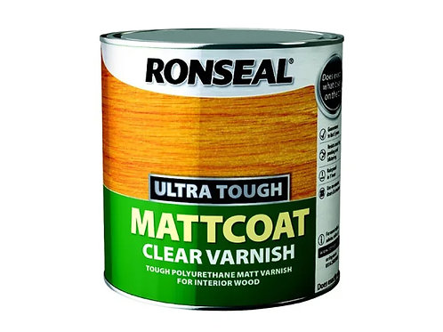 Ronseal Ultra Tough Mattcoat Clear Varnish
