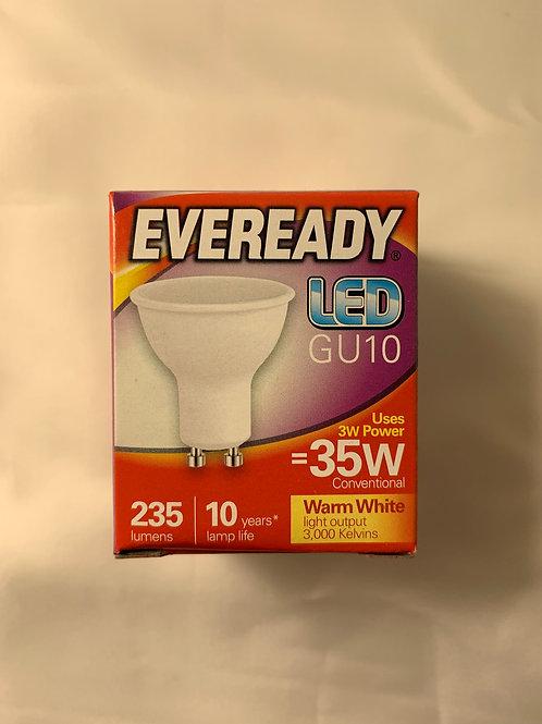 Eveready LED GU10 35w