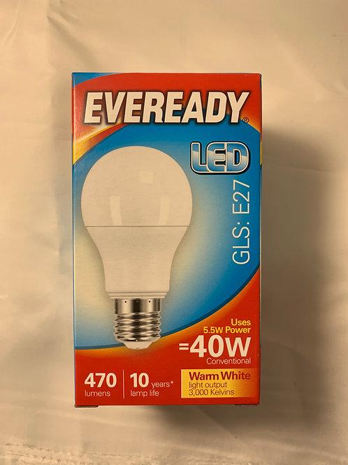 Eveready LED GLS E27 40w
