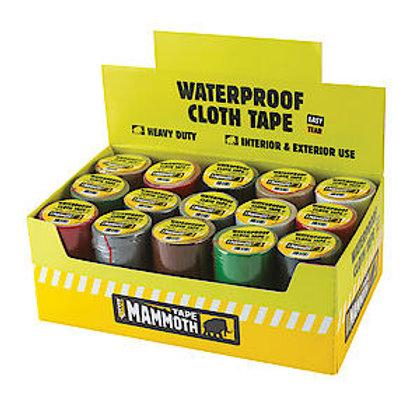 Mammoth Weatherproof Cloth Tape 50mm x 4.5m