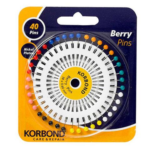 Korbond Berry Pins 40pc