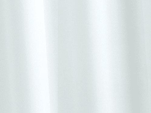 Croydex Vinyl Shower Curtain White