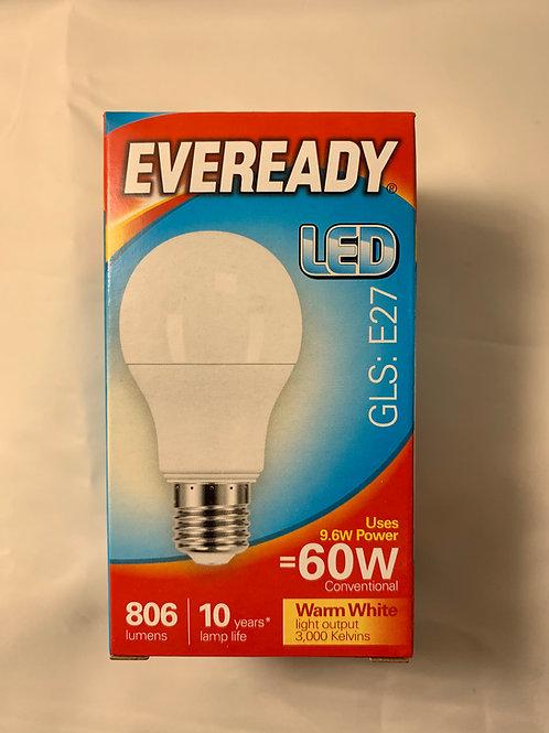 Eveready LED GLS E27 60w