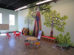 Rainbow Eucalyptus classroom
