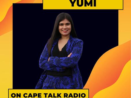 Yumi's Cape Talk Radio Interview