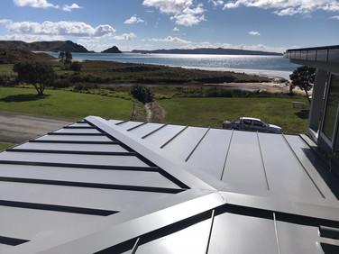 Roof ridges metal