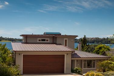 Copper standing seam roof auckland
