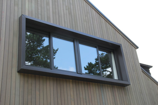 Box window aluminium