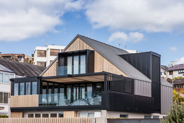 Auckland standing seam roof and cladding