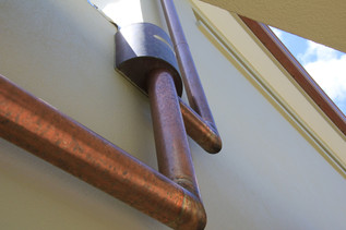 Copper downpipes auckland