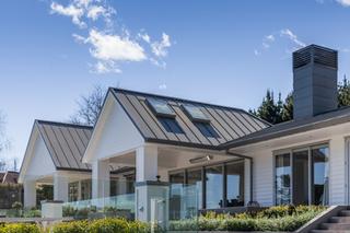 Standing seam metal roof skylights