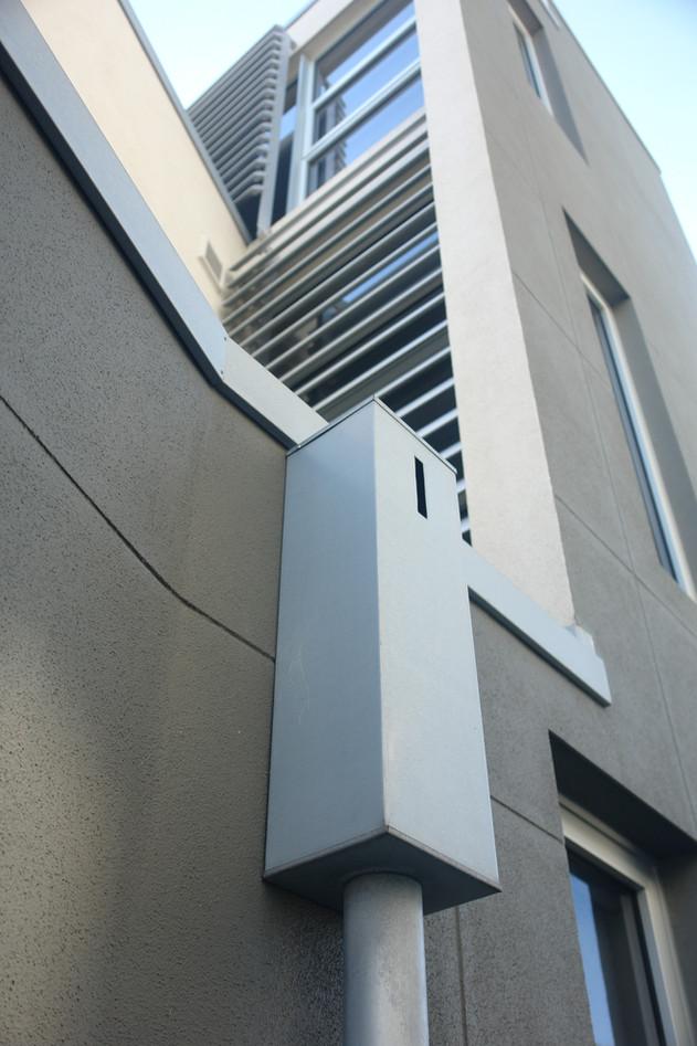 Rainwater head aluminium