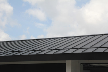 Tray Metal roof hidden gutter