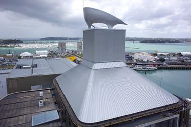 Custom metal roof ASB Centre Auckland