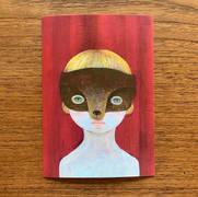 008 ポストカード「タヌキ」