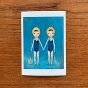 009 ポストカード「双子」