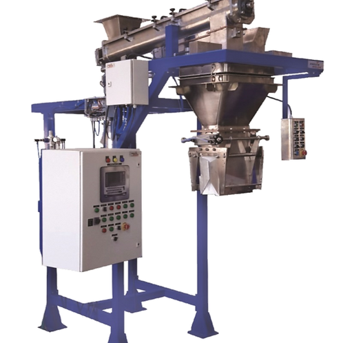 Small bagging with screw feeder