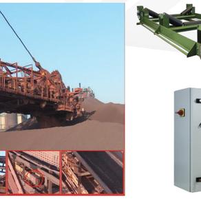 Belt scale for boom conveyor